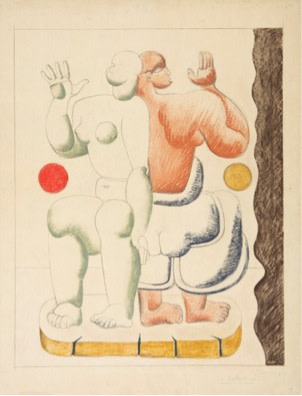 <span class=&#34;artist&#34;><strong>Le Corbusier</strong></span>, <span class=&#34;title&#34;><em>Composition with Two Women</em></span>