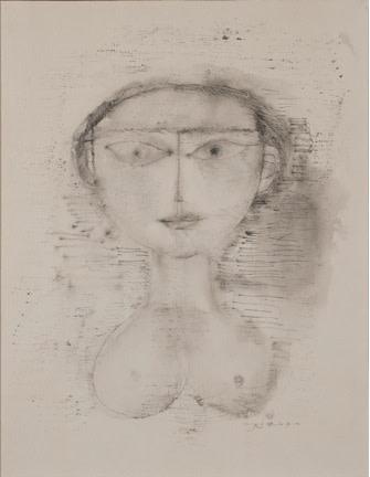 Zao Wou-Ki, Portrait, 1951