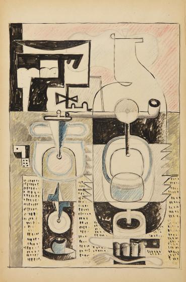<span class=&#34;artist&#34;><strong>Le Corbusier</strong></span>, <span class=&#34;title&#34;><em>Still life</em>, 1928</span>