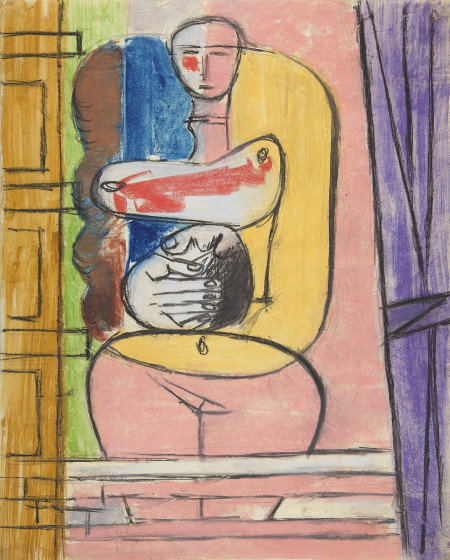 "<span class=""artist""><strong>Le Corbusier</strong></span>, <span class=""title""><em>Icon</em>, 1946 </span>"