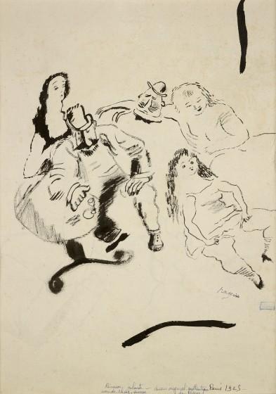 Jules Pascin, Reunion Galante, 1925