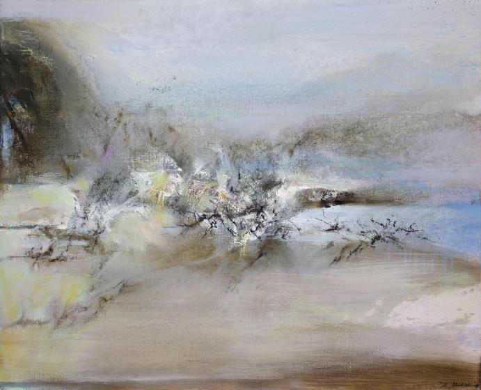 Zao Wou-Ki, Untitled, 1998