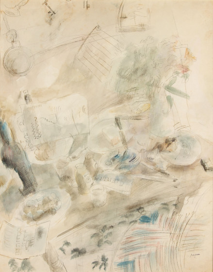 Jules Pascin, Still Life at Sanary