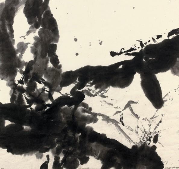 Zao Wou-Ki, Composition, 1999