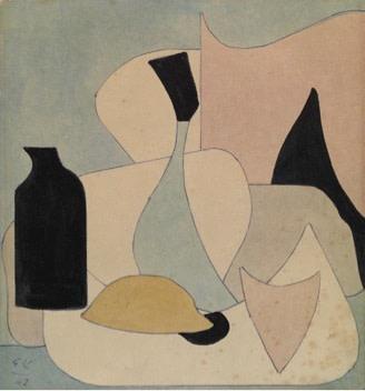 Evgeni Kropivnitsky, Still Life, 1962