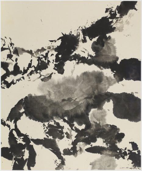 Zao Wou-Ki, Untitled, 2001