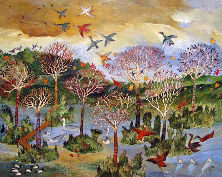 Anna Pugh, Everglade, 2013