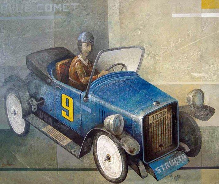 Manuel López Herrera, Blue Comet, 2011
