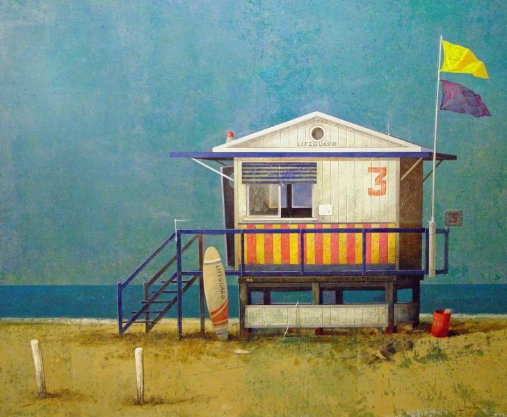 Manuel López Herrera, Beach House II, 2016