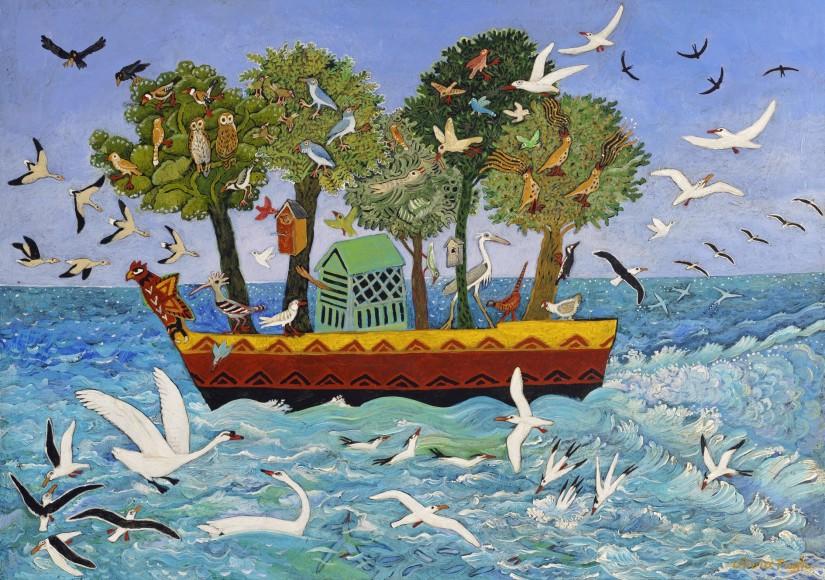 Anna Pugh, Bird Ark, 2017