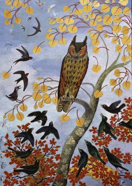 Anna Pugh, Owl, 2017