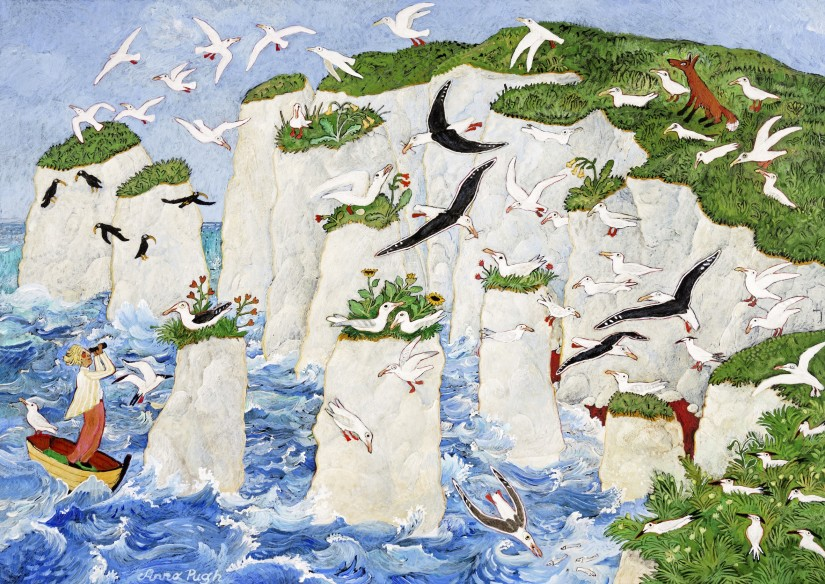 Anna Pugh, Old Harry and Other Rocks, 2017