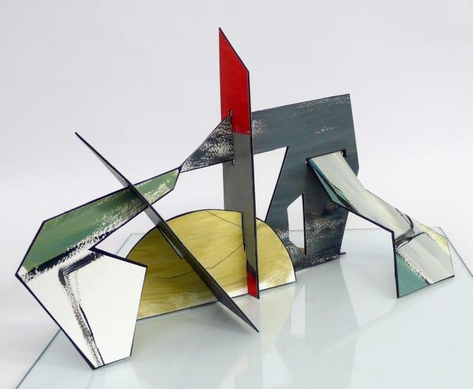 "<span class=""artist""><strong>Lisa Traxler ARWS</strong></span>, <span class=""title""><em>Observation Post 1</em></span>"