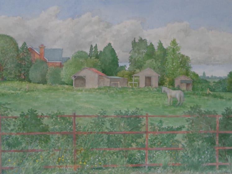 "<span class=""artist""><strong>David Payne RWS</strong></span>, <span class=""title""><em>The English Meadow</em></span>"