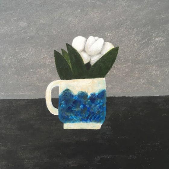 "<span class=""artist""><strong>Martin Leman RWS</strong></span>, <span class=""title""><em>White Flower</em></span>"