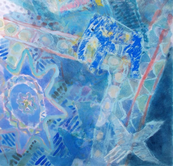 """<span class=""""artist""""><strong>Anne Marlow RWS</strong></span>, <span class=""""title""""><em>Weightless</em></span>"""