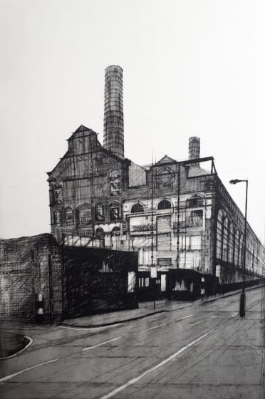Melanie Bellis ARE Lots Road Power Station etching 62 x 81cm 1 / 30