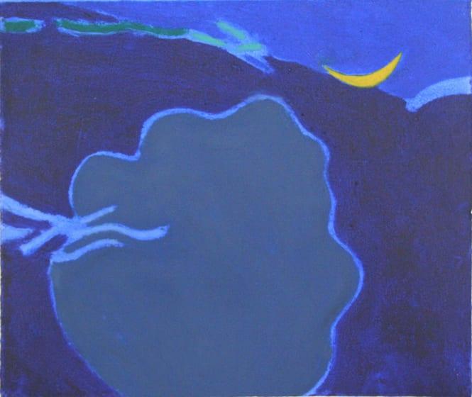 """<span class=""""artist""""><strong>Ursula Leach RE</strong></span>, <span class=""""title""""><em>Moonlight</em></span>"""