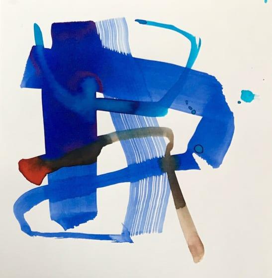 "<div class=""artist""><strong>Jane Lewis ARWS</strong></div><div class=""title""><em>Forge</em></div><div class=""medium"">ink</div><div class=""dimensions"">34 x 34</div>"