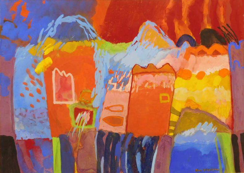 """<span class=""""artist""""><strong>Ann Wegmuller RWS</strong></span>, <span class=""""title""""><em>Heatwave</em></span>"""