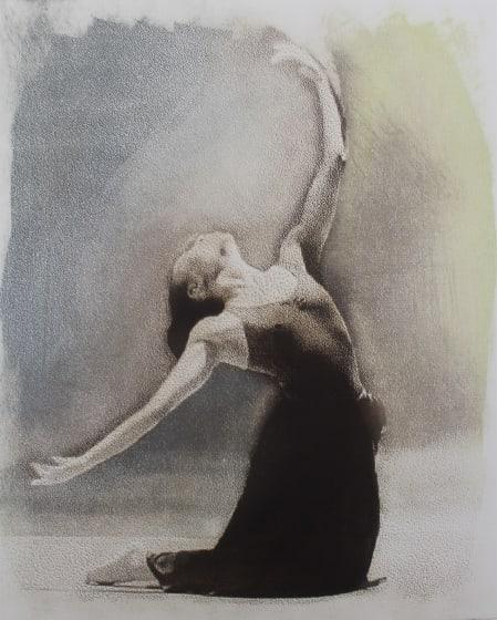 Margaret Ashman RE Naku photo etching & monotype 80 x 68cm 1/20
