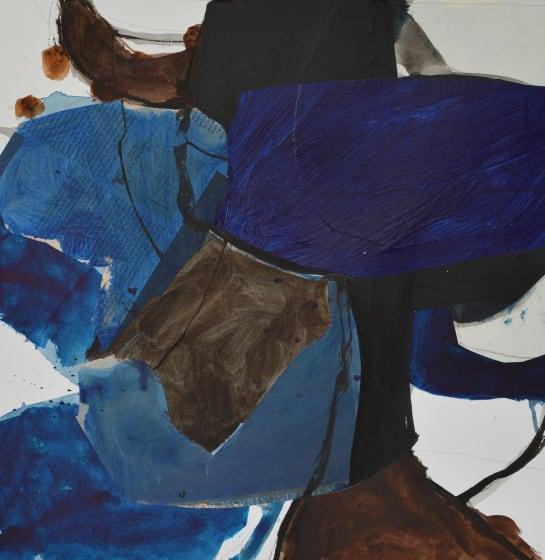 "<div class=""artist""><strong>Jim  Hunter ARWS</strong></div><div class=""title""><em>St Aldhelm Tracks</em></div><div class=""medium"">watercolour, acrylic, ink & pasted paper</div><div class=""dimensions"">60 x 60</div>"