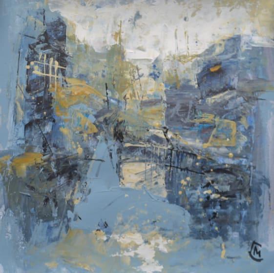 """<div class=""""artist""""><strong>Colin Merrin RWS</strong></div><div class=""""title""""><em>Composition 210</em></div><div class=""""medium"""">acrylic</div><div class=""""dimensions"""">38 x 38</div>"""