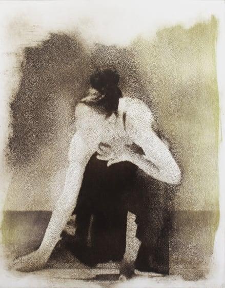 Margaret Ashman RE Ogamu photo etching & monotype 80 x 68cm 1/20