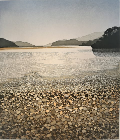 Phil Greenwood RE Estuary etching & aquatint 76 x 66cm 47/150