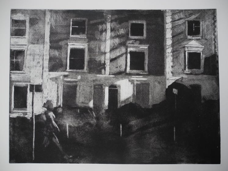 Adrian Bartlett RE Cleaver Square etching 50 x 60cm 2/30