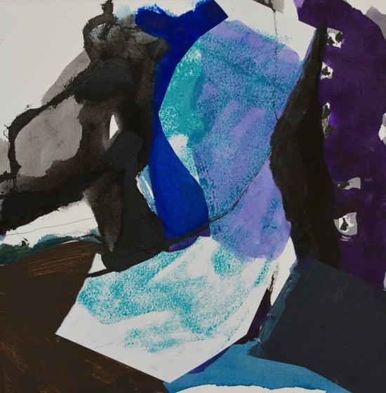 "<span class=""artist""><strong>Jim Hunter ARWS</strong></span>, <span class=""title""><em>Walking The Gorge</em></span>"