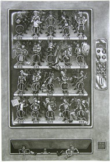 "<span class=""artist""><strong>Martin Langford RE</strong></span>, <span class=""title""><em>Vending Machine</em></span>"