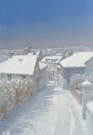 "<span class=""artist""><strong>Dennis Roxby Bott RWS</strong></span>, <span class=""title""><em>Chapel Hills, Lewes</em></span>"