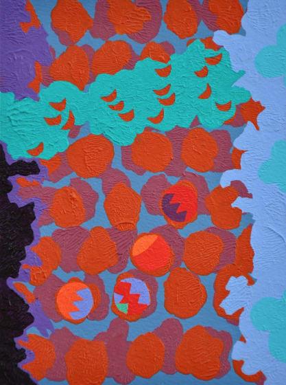 "<div class=""artist""><strong>John Crossley RWS</strong></div><div class=""title""><em>Tumble</em></div><div class=""medium"">acrylic</div><div class=""dimensions"">29 x 24</div>"
