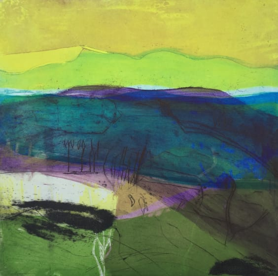 """<span class=""""artist""""><strong>Louise Davies RE</strong></span>, <span class=""""title""""><em>Shadows on the Moors</em></span>"""