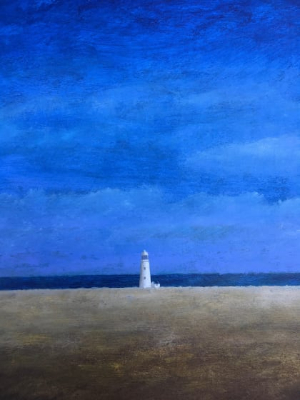 "<span class=""artist""><strong>Martin Leman RWS</strong></span>, <span class=""title""><em>Lighthouse</em></span>"