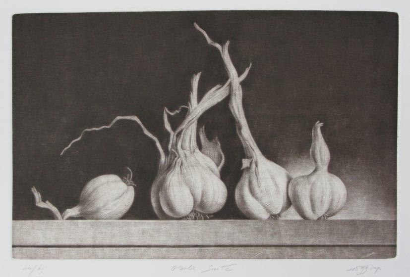 Konstantin Chmutin RE Garlic Suite mezzotint 31 x 39.5cm 57/65