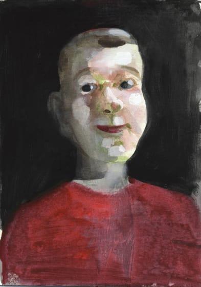 "<div class=""artist""><strong>Charles Williams RWS</strong></div><div class=""title""><em>Teenage Pinocchio</em></div><div class=""medium"">watercolour & gouache</div><div class=""dimensions"">36 x 27</div>"