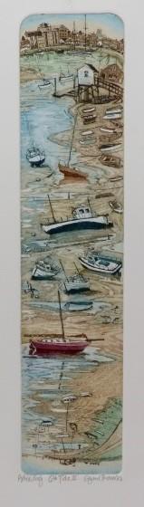 Glynn Thomas RE Ebb Tide II etching 55 x 21cm AP (edition 150)
