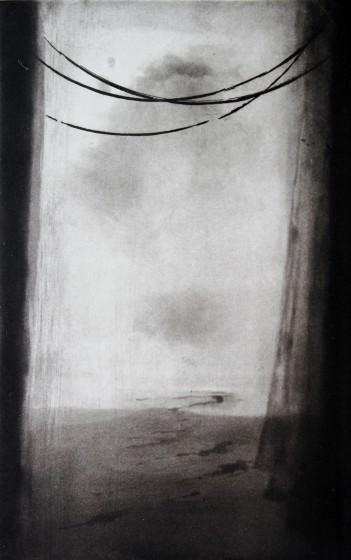 Nick Richards ARE Crossing etching & aquatint 40 x 54cm 10/30