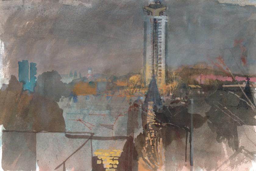<span class=&#34;artist&#34;><strong>Paul Newland RWS</strong></span>, <span class=&#34;title&#34;><em>SW 8: Winter</em></span>