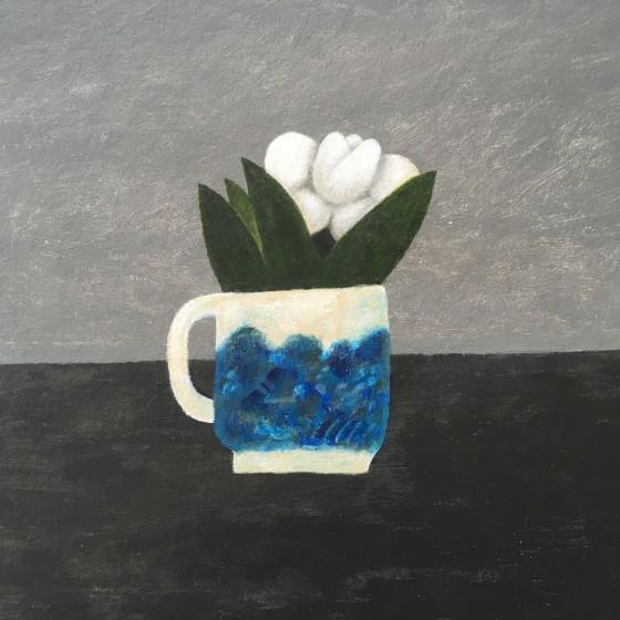 <span class=&#34;artist&#34;><strong>Martin Leman RWS</strong></span>, <span class=&#34;title&#34;><em>White Flower</em></span>