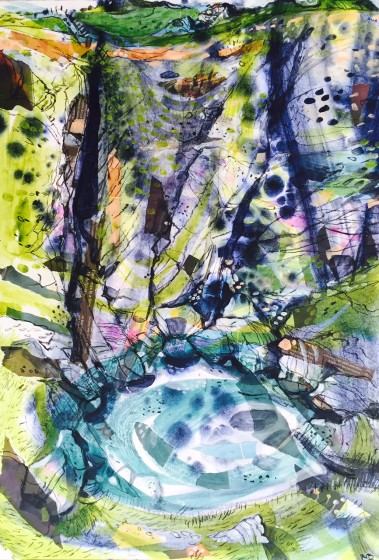 <span class=&#34;artist&#34;><strong>Mark Raggett VPRWS</strong></span>, <span class=&#34;title&#34;><em>Ogof Cadno</em></span>