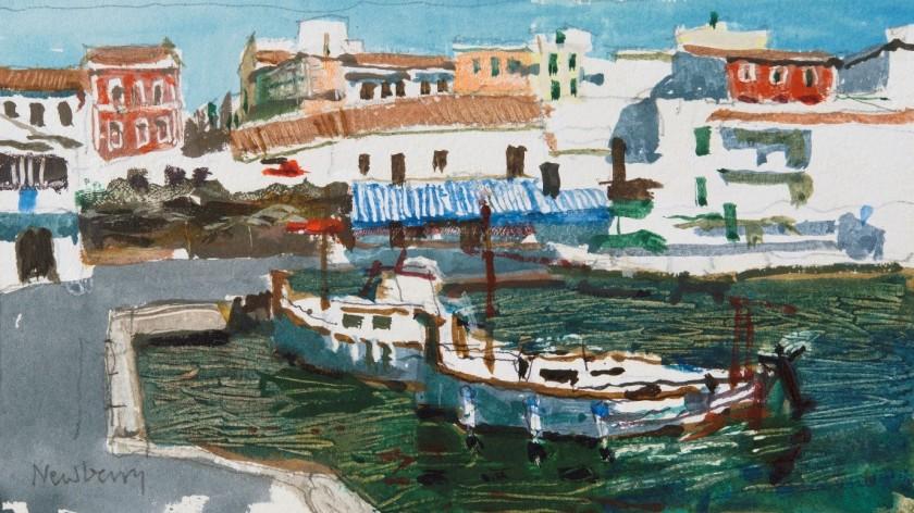 <span class=&#34;artist&#34;><strong>John Newberry RWS</strong></span>, <span class=&#34;title&#34;><em>Cala Font,  Minorca</em></span>
