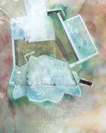 <span class=&#34;artist&#34;><strong>David Hamilton ARWS</strong></span>, <span class=&#34;title&#34;><em>Coastal Bunker </em></span>