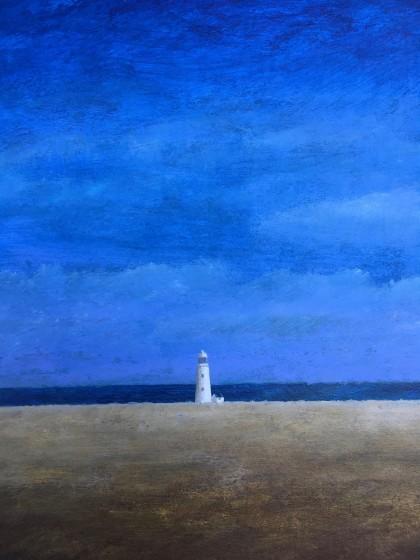 <span class=&#34;artist&#34;><strong>Martin Leman RWS</strong></span>, <span class=&#34;title&#34;><em>Lighthouse</em></span>