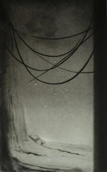 Nick Richards ARE Syzygy etching & aquatint 40 x 54cm 20/30