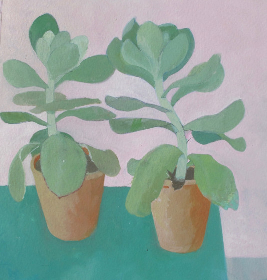 <span class=&#34;artist&#34;><strong>Wendy Jacob RWS</strong></span>, <span class=&#34;title&#34;><em>Pink and Green</em></span>