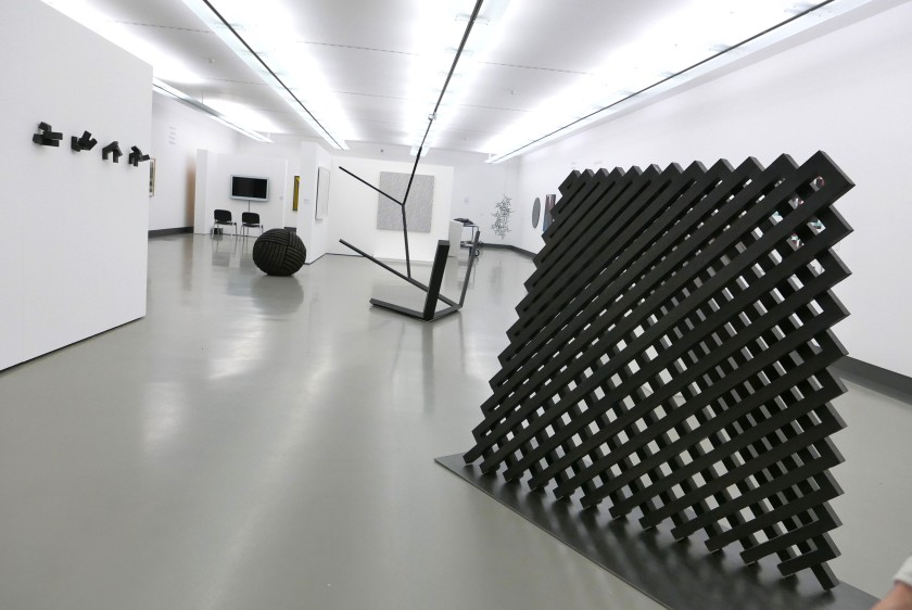 Installation view of the exhibition at Würzburg