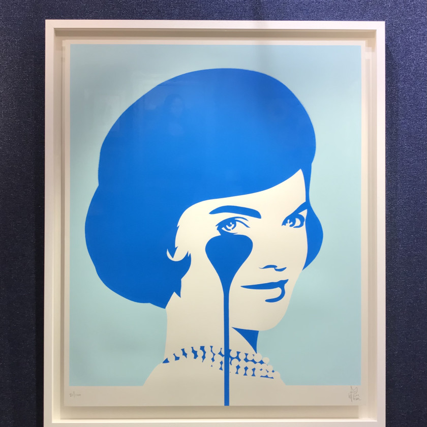 Smiling Jackie Soft Blue Colours, 2020